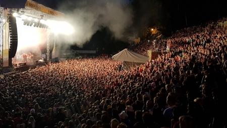 Pohled na Vysočina fest 2016