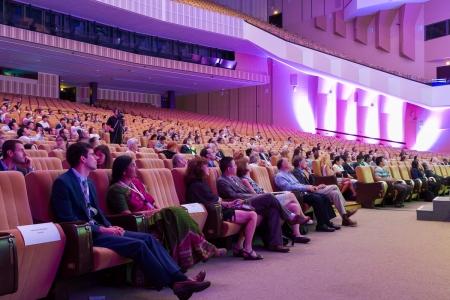 Kongres ISPRS 2016 - pohled do hlediště během přednášek