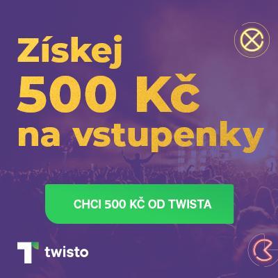 Plaťte s Twistem na jedno kliknutí a roztočte to na Ticketlive s kreditem 500 Kč!