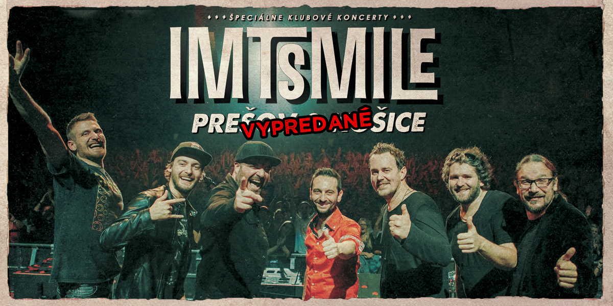 IMT Smile - Špeciálne klubové koncery 2020