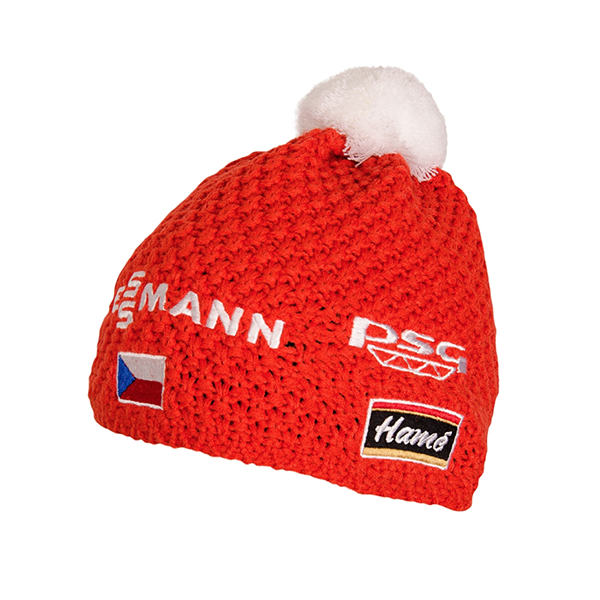 Oficiálna čiapka českej biatlonovej reprezentácie II