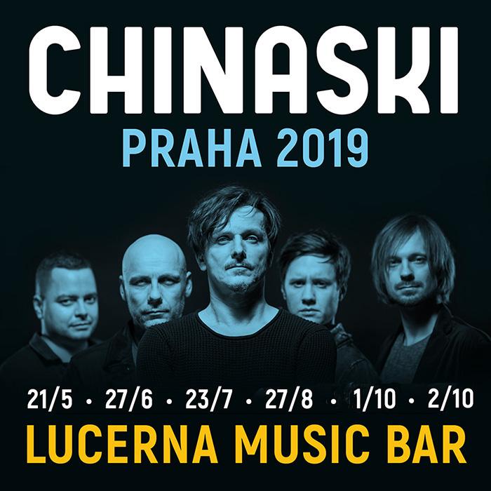 CHINASKI  Praha  Lucerna Music Bar