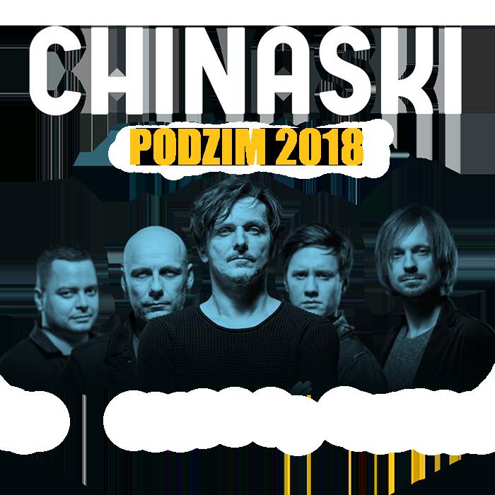 Chinaski Podzimní turné 2018