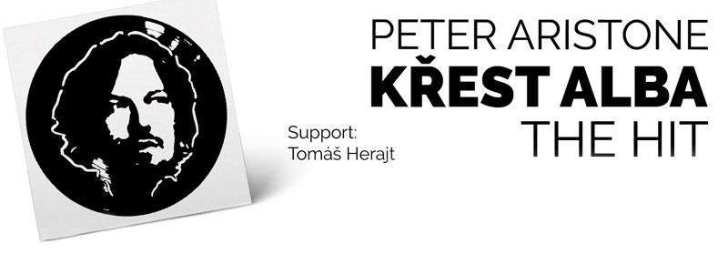 Peter Aristone / Křest alba / + Tomáš Herajt