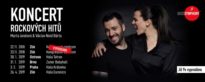 ROCKSYMPHONY 2019 Marta Jandová & Václav Noid Bárta