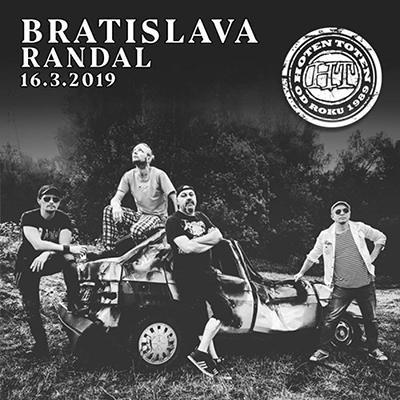 HOTEN TOTEN: Bratislava 2019