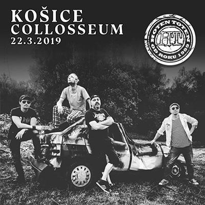 HOTEN TOTEN: Košice 2019