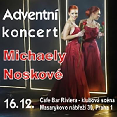 Advnentní koncert Michaely Noskové