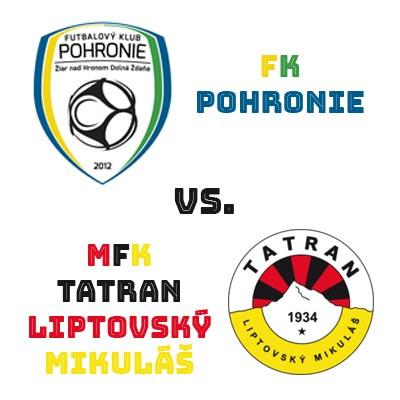 FK Pohronie - MFK Tatran Liptovský Mikuláš 15.3.2019