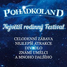 POHÁDKOLAND <br>Největší rodinný festival <br>Valečov 2018