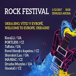 ROCK FESTIVAL - Ukrajino, vítej v Evropě!