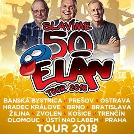 ELÁN 50 LET <br>TOUR 2018 Olomouc