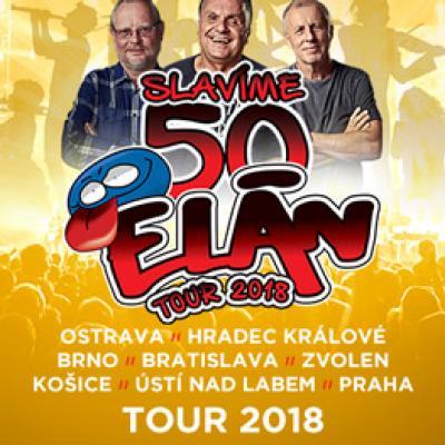 ELÁN 50 LET <br>TOUR 2018 Brno