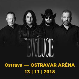 EVOLUCIE <br>Album & Tour <br>Ostrava