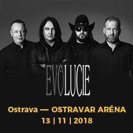 EVOLUCIE <br>Album & Tour <br>Ostrava