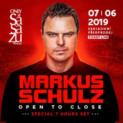 MARKUS SCHULZ <br> OPEN TO CLOSE