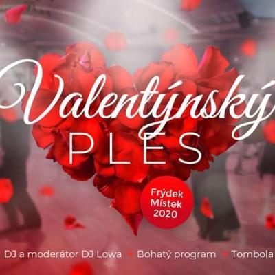 Valentýnský ples ve Frýdku-Místku