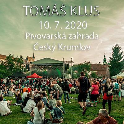 Tomáš Klus Český Krumlov 2020