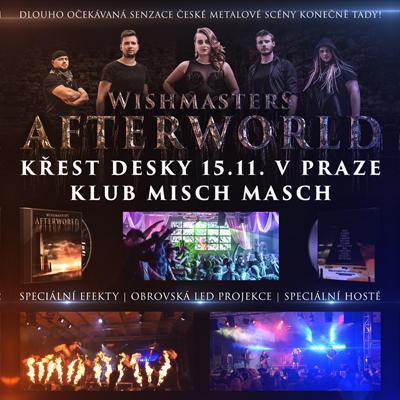 WISHMASTERS - AFTERWORLD <br> KŘEST DESKY