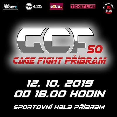 GCF 50: CAGE FIGHT PŘÍBRAM 2019