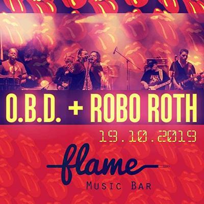 O.B.D + Robo Roth v Bratislave
