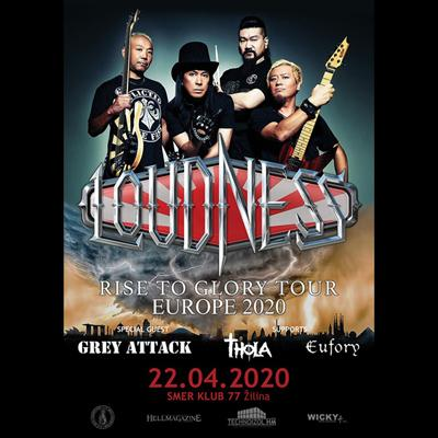 LOUDNESS Rise To Glory European Tour