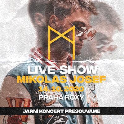 Live Show Mikolas Josef