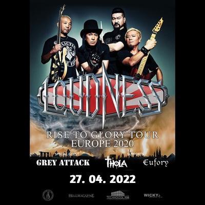 LOUDNESS Rise To Glory European Tour