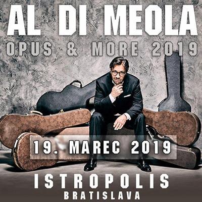 AL DI MEOLA - OPUS & MORE: Bratislava 2019