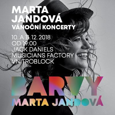 VÁNOČNÍ KONCERT MARTY JANDOVÉ