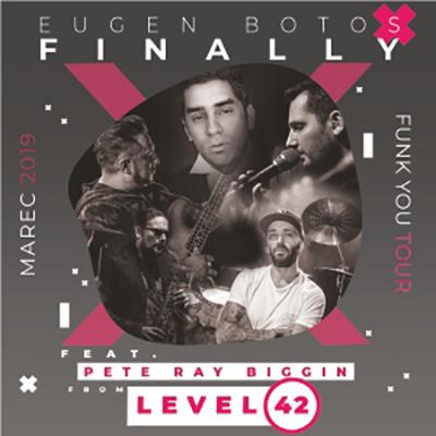 Eugen Botos Finally feat. Pete Ray Biggin (Level 42) <br>Funk You Tour 2019: Prešov