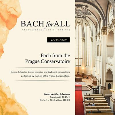 BACH for ALL <br> Bach z Pražské konzervatoře