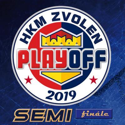 HKM Zvolen - HK Nitra - Semifinále - 1. zápas