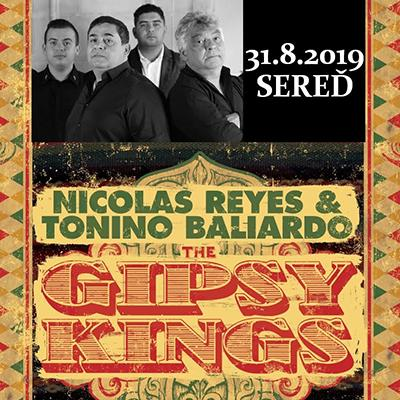 GIPSY KINGS / IN CASTLE 2019 v Seredi