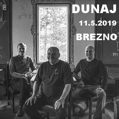 Koncert kapely Dunaj v Brezne