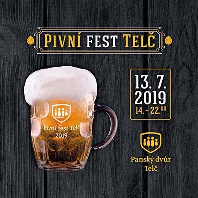 Pivní fest Telč 2019
