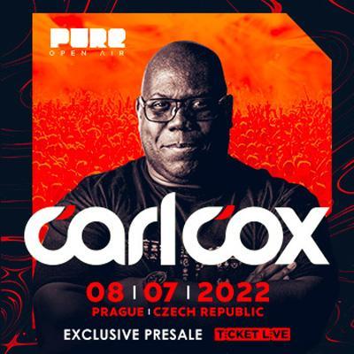 CARL COX Pure Open Air Prague 2022