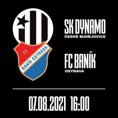 SK Dynamo České Budějovice X FC Baník Ostrava // FORTUNA:LIGA