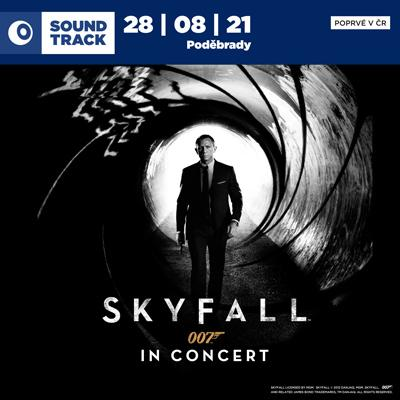 SOUNDTRACK Poděbrady 2021 <br>James Bond: <i>Skyfall</i> in Concert