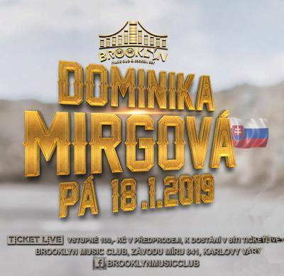 DOMINIKA MIRGOVÁ LIVE!