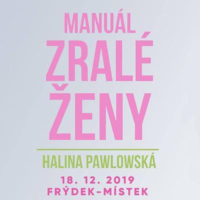 Halina Pawlowská ve Frýdku-Místku 2019