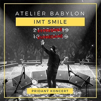 IMT SMILE - Špeciálny predvianočný klubový koncert - Bratislava