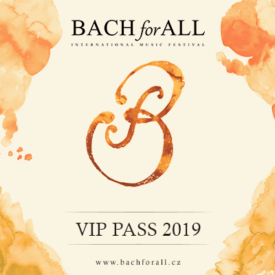 BACH for ALL <br> International Music Festival <br> V.I.P. PASS