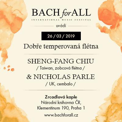 BACH for ALL <br> Sheng-Fang Chiu & Nicolas Parle