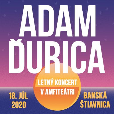 Adam Ďurica - Letný koncert v amfiteátri / Banská Štiavnica
