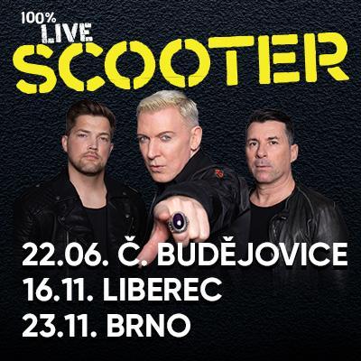 SCOOTER Tour 2019 - České Budějovice