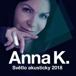 ANNA K. - Světlo akusticky tour 2018<br> Jihlava