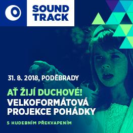 SOUNDTRACK Poděbrady 2018 <br>Ať žijí duchové! <br>Velkoformátové promítání pohádky s hudebním překvapením