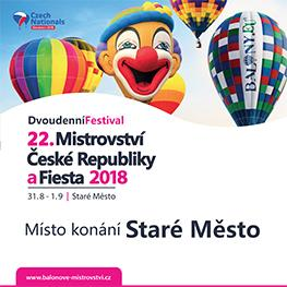 Mistrovství ČR v balónovém létání 2018