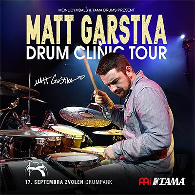Matt Garstka DRUM CLINIC TOUR 2019